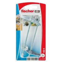 Fischer Spring toggle (L)90mm (Dia)14mm Pack of 2.