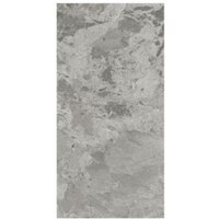 Harmony Grey Gloss Marble effect Ceramic Wall tile  Pack of 8  (L)500mm (W)250mm