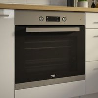 Beko BQM22301XC Black & stainless steel Built-in Electric Single Multifunction Oven