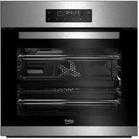 Beko BQM22400XP Black & stainless steel Electric Pyrolytic single oven
