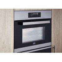 Beko BQW12400X Black & stainless steel Built-in Electric Compact Multifunction Oven