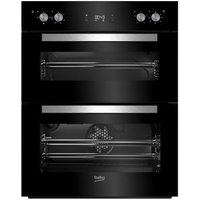 Beko BTQF24300B Black Built-in Electric Double Multifunction Oven