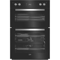 Beko BDQF24300B Black Built-in Electric Double Multifunction Oven