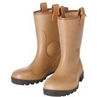 Dunlop Black & tan Rigger boots  Size 8