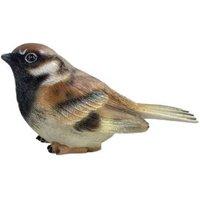Sitting Male Sparrow Garden Ornament