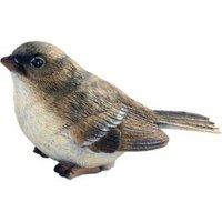 Sitting Female Sparrow Garden Ornament