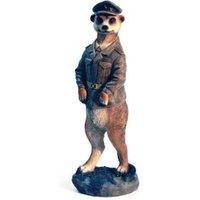 Meerkat Pilot Garden Ornament
