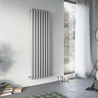 Ximax Vulkan Vertical Radiator Grey (H)1800 mm (W)585 mm