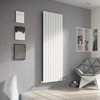 Ximax Vertirad Single Vertical Designer radiator White (H)1600 mm (W)445 mm