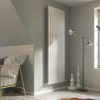 Ximax Vertirad Duplex Vertical Designer radiator White (H)1600 mm (W)445 mm