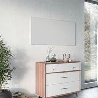 Ximax Infrared panel Vertical/horizontal Designer radiator White (H)600 mm (W)1200 mm