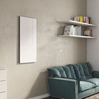 Ximax Infrared Glass Horizontal Radiator White (H)600 mm (W)900 mm