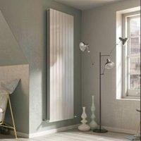 Ximax Vertirad Duplex Vertical/horizontal Designer radiator White (H)1200 mm (W)595 mm
