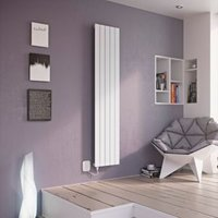 Ximax Vertirad Electric Vertical Radiator White (H)900 mm (W)370 mm