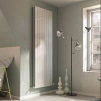 Ximax Vertirad Duplex Deluxe Vertical/horizontal Designer radiator White (H)1800 mm (W)445 mm
