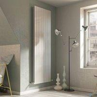 Ximax Vertirad Duplex Universal Vertical/horizontal Designer radiator White (H)1500 mm (W)445 mm