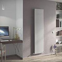 Ximax Champion Duplex Vertical Designer radiator White (H)1800 mm (W)294 mm