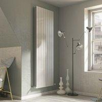 Ximax Vertirad Duplex Vertical/horizontal Designer radiator White (H)1800 mm (W)295 mm