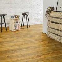 Nailsea Walnut effect Laminate flooring  1.49m² Pack