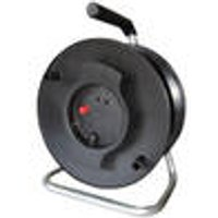 Cable Drum, 40 m, Built-in Thermal Safety Switch AS Schwabe