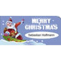 Labels Merry Christmas, 300 pieces Westfalia