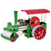 D375 Live Steam Roller Kit Red and Green Wilesco