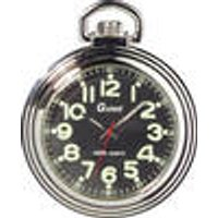 Quartz Pocket Watch with Illuminated Numbers