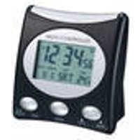 Radio alarm clock with LCD, black/silver Techno Line