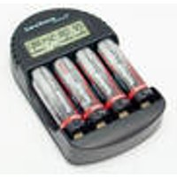 Battery Charger with 4 Batteries Techno Line