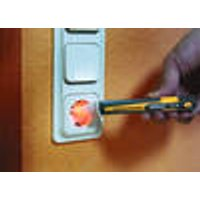 Voltage tester optical & acoustic with LED flashlight Wetekom