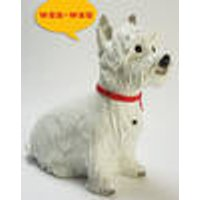 Dog with motion detector, 31 x 37 cm Westfalia