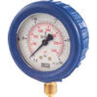 Manometer for tractor hydraulics - bottom connection