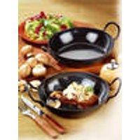 Gourmet pan set, 2-piece, steel