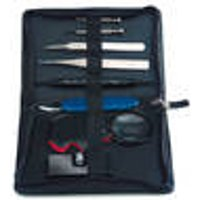 Watchmaker Toolkit, 8 piece, in high quality plastic case Westfalia