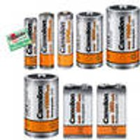 Fast Charging Powerful NiMH Rechargeable Batteries - all common battery sizes Camelion