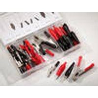 Crocodile Clip Set, 60 Piece Westfalia