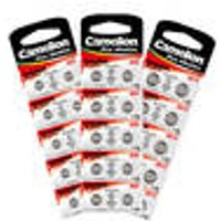 Alkaline Coin Cells packs of 10 in various sizes Camelion