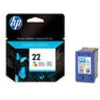 Original ink cartridge, color, HP 22 HP