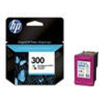 Original ink cartridge, color, HP 300 HP