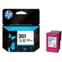 Original ink cartridge, color, HP 301, cyan, magenta, yellow HP