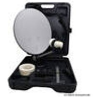 CS35 Satellite dish in a case, with Easyfind LNB and mount microelectronic