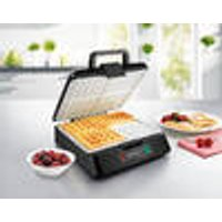 XXL 2651 Ceramic Waffle Iron, Makes 4 Waffels per Filling Gourmet Maxx