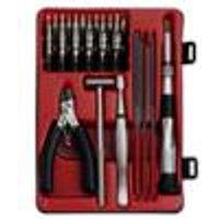 Precision tool set of 25, for crafts and precision mechanics DONAU