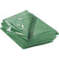 Tarpaulin, green, 3 x 4 m, 90 g / m ²