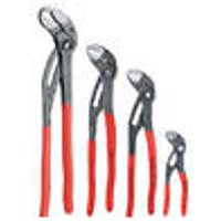 Cobra Pipe Wrenches in various sizes, with push button Knipex