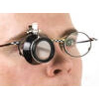 Magnifying Glass Attachment for Glasses with 3 fold Magnification Westfalia