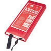 Fire blanket, usable on both sides, 100 x 100 cm Westfalia