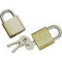 Padlock set, 2 pieces, with keys