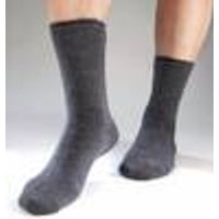 Thermal Socks with Heating Effect, grey / light grey, size 6.5 - 10.5