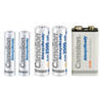 Always Ready Rechargeable Batteries, AA / AAA / 9V Block Camelion